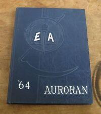 1964 Auroran East Aurora High School Yearbook Annual ~ vtg New York NY class of