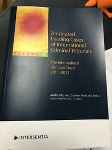 Annotated Leading Cases of International Criminal Tribunals - volume 57