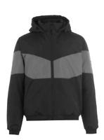 EVERLAST HD Bomber Jacket Black/Grey Mens Size UK L  *REF138