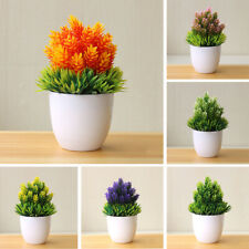 Artificial Fake Potted Flower Simulation Plant Bonsai Home Accessories Goody