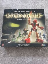 2001 LEGO BIONICLE QUEST FOR MAKUTA ADVENTURE BOARD GAME 100% COMPLETE/UNPUNCHED