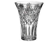 Waterford Crystal Glass Bouquet Cassidy Stunning Rose Flower 10'' Vase New Boxed