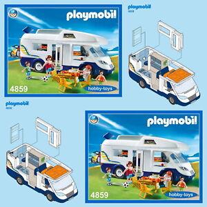 * Playmobil 4859 * Camper Van * Spares * SPARE PARTS SERVICE *