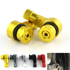 Alloy Tyre Valve Stems For Triumph Tiger Explorer 955i 1050 Sprint 900 GT Gold
