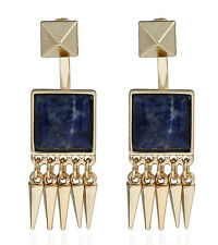MARNI H&M Square  Gemstone Tassel Earrings