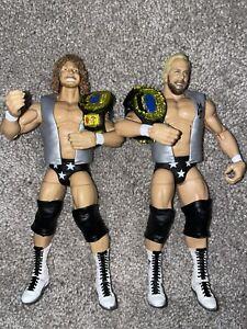 CUSTOM WWE MATTEL ELITE 81 STEVE AUSTIN BRIAN PILLMAN HOLLYWOOD BLONDES WCW