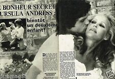 Coupure de Presse Clipping 1982 (6 pages) Ursula Andress