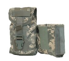 1 Liter Canteen Cover With PVS-14 Protective Insert ACU MOLLE Eagle Industries