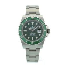 Rolex Submariner Date Green Stainless Steel 116610LV HULK Box and Papers 2017