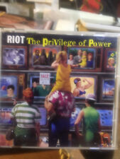 RIOT The Privilege Of Power JAPAN CD CSCS-5053 1990
