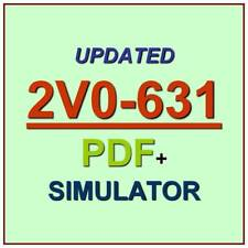 VMware Professional 6 Cloud Management VCP6-CMA Exam 2V0-631 Test QA PDF+SIM
