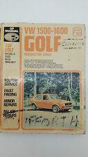 Murray Books SP No 153 VW Golf 1500-1600 Carby 1974-1977 DIY Workshop Manual