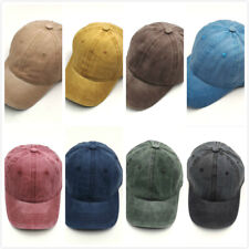 Men Women vintage Denim Baseball Cap Adjustable Distressed Trucker Snapback Hat