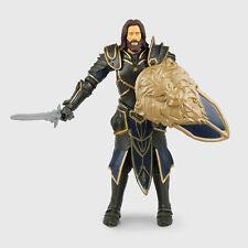 WOW WORLD OF WARCRAFT/ FIGURA ANDUIN LOTHAR 15 CM- GRYPHON BACKHAND NEW  BOX 6""