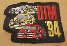 Ricamate, Sticker Patch: DTM 94 OPEL CALIBRA v6, MERCEDES AMG C, ALFA ROMEO 155