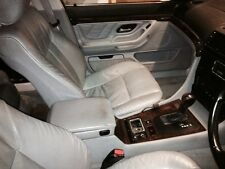 BMW 7 Series E38 1999 Leather Interior Front And Rear Seats in Grey Conversion