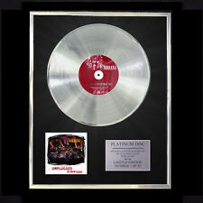 NIRVANA MTV UNPLUGGED IN NEW YORK  CD PLATINUM DISC FREE P+P!!