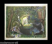 P. PICASSO Lithograph - Ltd Ed. 106/150 Wtrmk ARCHES + Cat. Ref. c118* +FRAMING