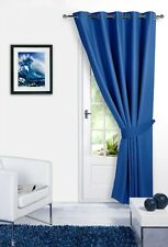 BLACKOUT Thermal DOOR CURTAINS In EYELET  RING TOP Style