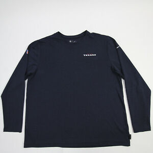 Houston Texans Nike Dri-Fit Long Sleeve Shirt Men's Navy Used