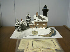 1998 Harbour Lights Lighthouse #707 Christmas Old Field Point, New York