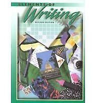 Elements of Writing, 3rd Course/Grade 9, Revised E