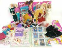 Vintage 90's Barbie Lot w/ 90's Vintage Ken Doll Horse and Vintage Clothing