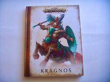 GAMES WORKSHOP~AGE OF SIGMAR~BROKEN REALMS KRAGNOS HARDCOVER BOOK~NEW