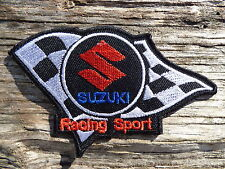 A281 ECUSSON PATCH THERMOCOLLANT aufnaher toppa SUZUKI racing rallye automobile