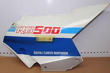 1986 SUZUKI RG500 RIGHT SIDE FRAME COVER FAIRING COWL 47110-20A00 (STPU44)