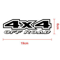 Universal 4X4 Off-road 4WD Car Styling Reflective Car Sticker Decals Accessory