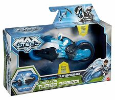 Max Steel Turbo Bike Motorcycle Race Ages 4+ Mattel New Toy Boys Fun Car Girls