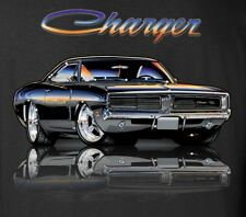 1968 -1969 -1970 Dodge Charger R/T Mopar Muscle Car Mens T-Shirt in 4XL - XXXXL