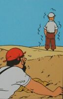 Herge (By) : Tintin Crab Aux Tongs Gold - 3 Lithographs Ex Libris #2011
