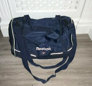 VINTAGE REEBOK BLUE LONG STRAP DETACHABLE GYM/OVERNIGHT BAG 1990'S VGC