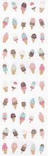 Mrs. Grossman's Stickers - Sparkle Micro Ice Cream Treats - Cone,Scoop -3 Strips