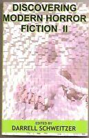 DARRELL SCHWEITZER Discovering Modern Horror II. Bloch, Aickman, Ramsey Campbell