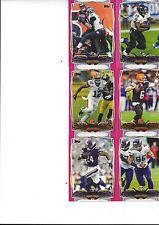 2014 Topps Football Pink #/499 Bernard Pierce Baltimore Ravens #189