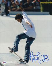 PAUL RODRIGUEZ SIGNED 11X14 PHOTO PSA/DNA COA H87843 PLAN B PRIMITIVE SKATEBOARD