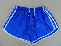 FRENCH TRUE Vintage Shorts SIZE XL Sprinter Sports VTG shiny Glanz retro gay