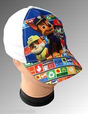 Paw Patrol cappello con visiera Estivo Bambino Baseball originale bianco tg.52