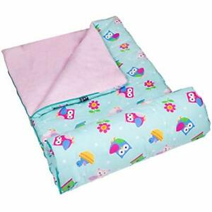 Wildkin Kids Sleeping Bags for Boys and Girls Measures 57 x 30 x 1.5 Inches C...