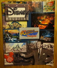 1995 Disney Magazine – Celebrating 40 Years of Disneyland - Excellent Condition