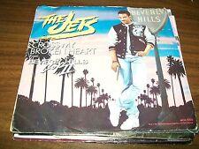 "The Jets-Cross My Broken Heart-Bad Guys-7"" 45-MCA-Vinyl Record-Pic Sleeve-VG+"