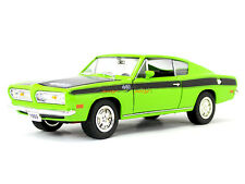 1969 Plymouth Barracuda 1:18 Yatming Road Signature diecast scale model car