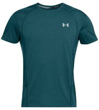Under Armour * UA Swyft Runner Short Sleeve T-Shirt Teal Green for Men