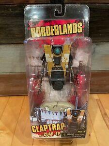 New NECA Borderlands Claptrap CL4P-TP Original Classic Yellow Action Figure WEAR