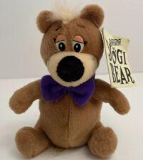 """Yogi Bear Plush Cartoon Network Yogi Bear 1995 Hanna Barbera 6"""" Tags"""
