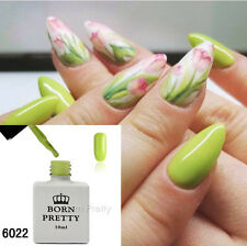 10ml Fluorescence Green Gel Polish Nail Art Soak Off LED UV Gel Born Pretty