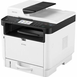 Ricoh SP 3710SF Laser Multifunction Printer Copier 32 Ppm copy fax scanw/toner